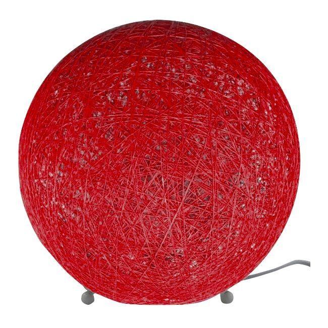 Lampa stołowa Colours Ader 1 x 28 W E14 czerwona