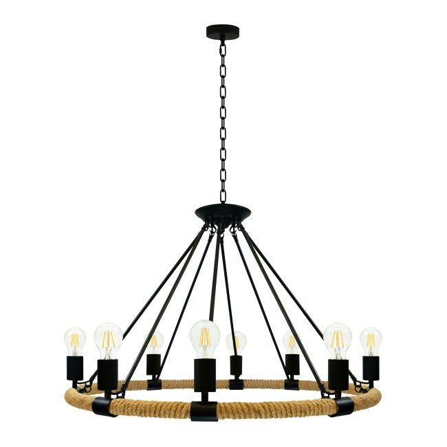 Lampa Wiszaca Arthur 8 X 60 W E27 Lampy Wiszace Castorama