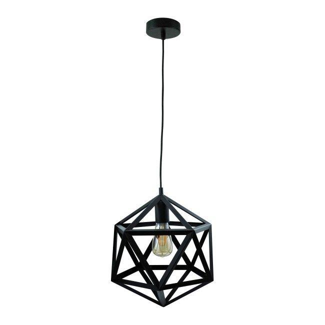 Lampa Wiszaca Denmark 1 X 20 W E27 Czarna Lampy Wiszace Lampy