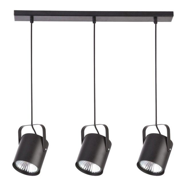lampy wiszace czarne castorama