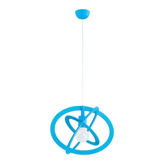 Lampa Wiszaca Gradi Blue 1 X 60 W E27 Niebieska Lampy Wiszace Castorama