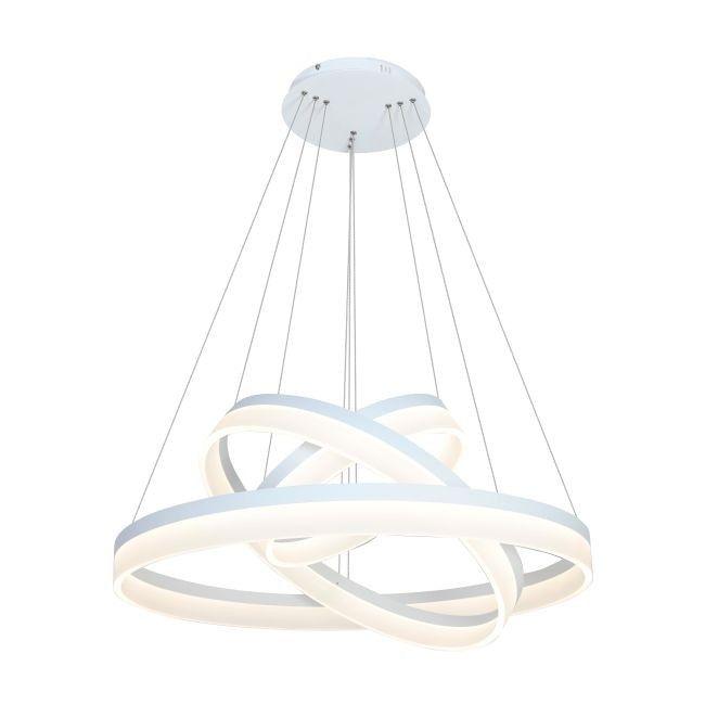 Lampa Wiszaca Led Ring 1 X 114 W Biala Lampy Wiszace Lampy