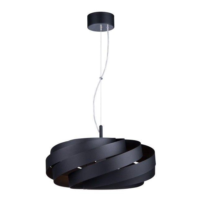 Lampa Wiszaca Vento 1 X 40 W E27 Czarna Lampy Wiszace Castorama
