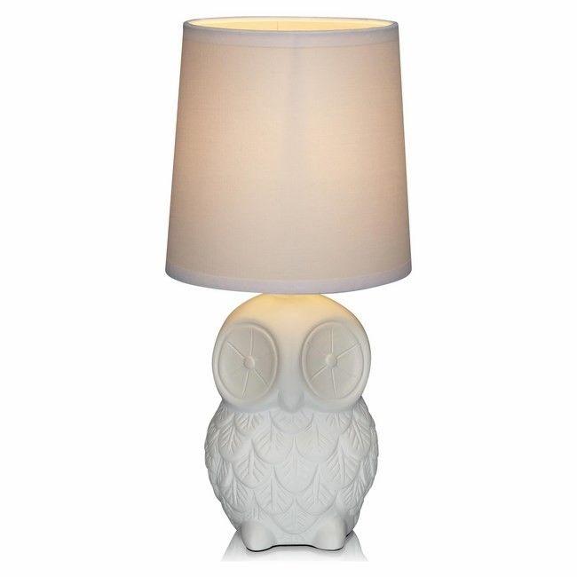 Lampka Helge 1 x 40 W E14 biała