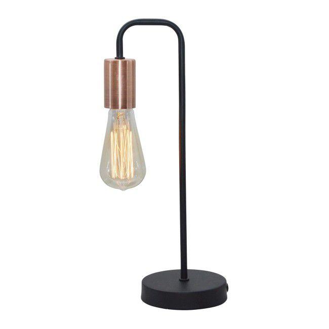 Lampka Gabinetowa Herpe 1 X 60 W E27 Czarna