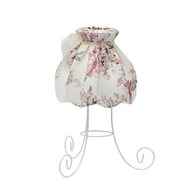 Lampka stołowa Sweet 1 x 40 W E27 róże