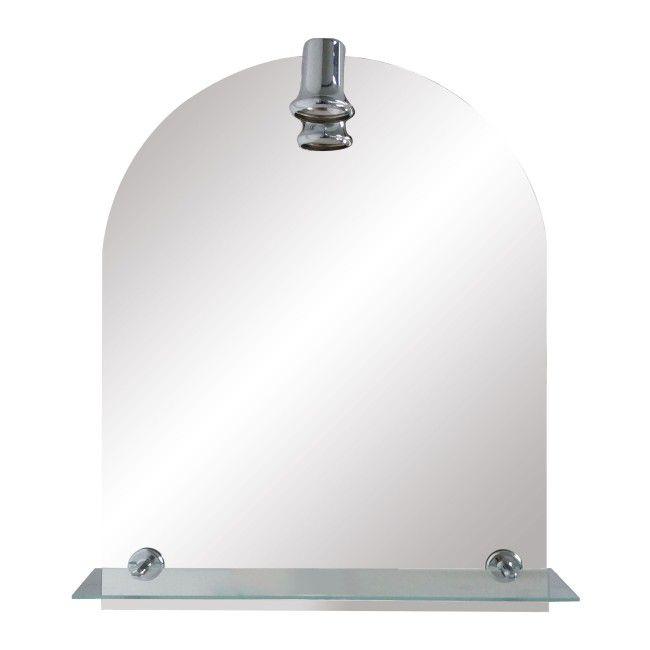 Lustro Ula 50 X 65 Cm Z Oświetleniem I Półką