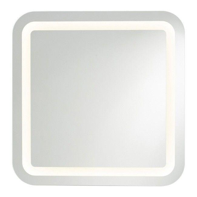 Lustro Kwadratowe Cooke Lewis Charlestown 60 X 60 Cm Z Oswietleniem Led Lustra Ciete Castorama