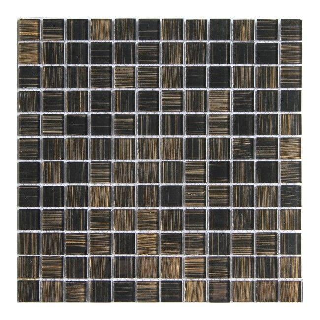 mozaika colours 30 x 30 cm czarna p�ytki ścienne