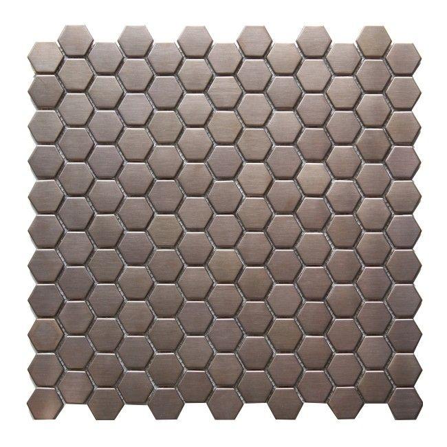 Mozaika Lolo Colours 305 X 32 Cm Różowo Złota Płytki