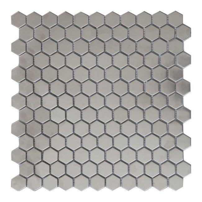 Mozaika Lolo Colours 305 X 32 Cm Srebrna