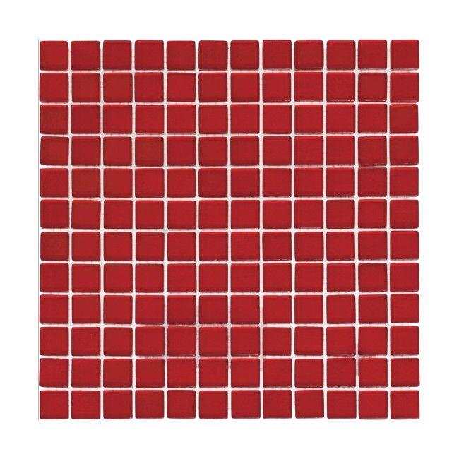 mozaika szklana rosso 30 x 30 cm p�ytki ścienne p�ytki