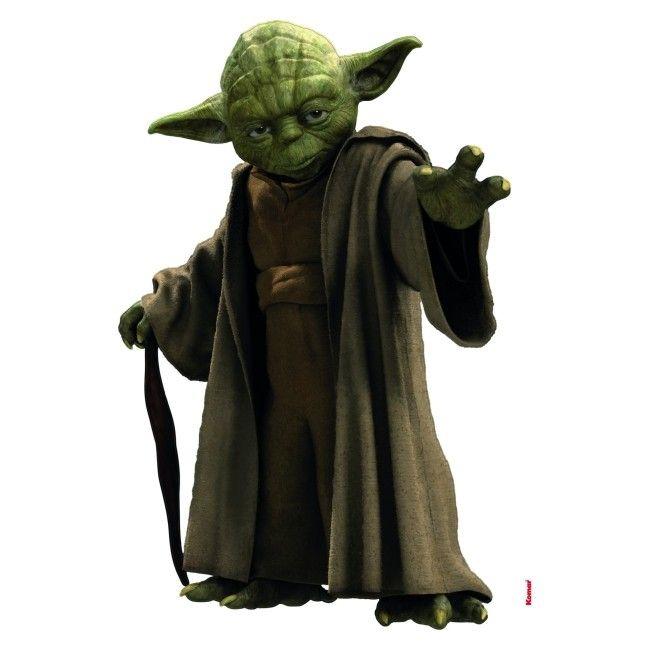 Naklejka Star Wars Yoda 100 X 70 Cm Naklejki Okleiny I Naklejki