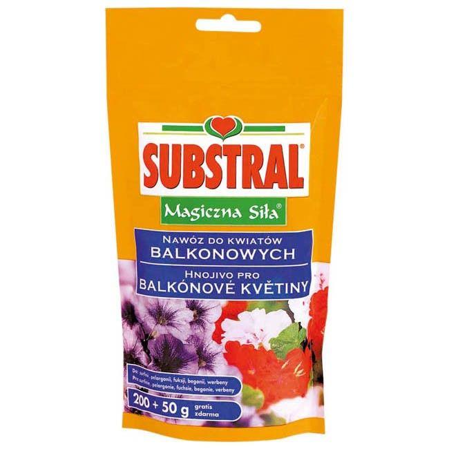 Nawoz Do Kwiatow Balkonowych Substral Magiczna Sila 0 25 Kg Rozpuszczalny Do Roslin Balkonowych Castorama
