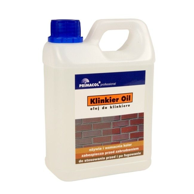 Olej Do Klinkieru Primacol Klinkier Oil 1 L Srodki Czyszczace Castorama