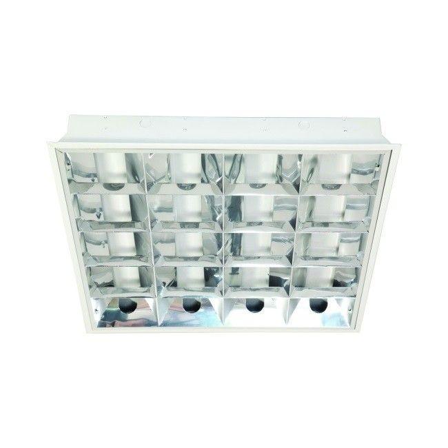 Oprawa Rastrowa Podtynkowa Elektryczna 4 X 18 W