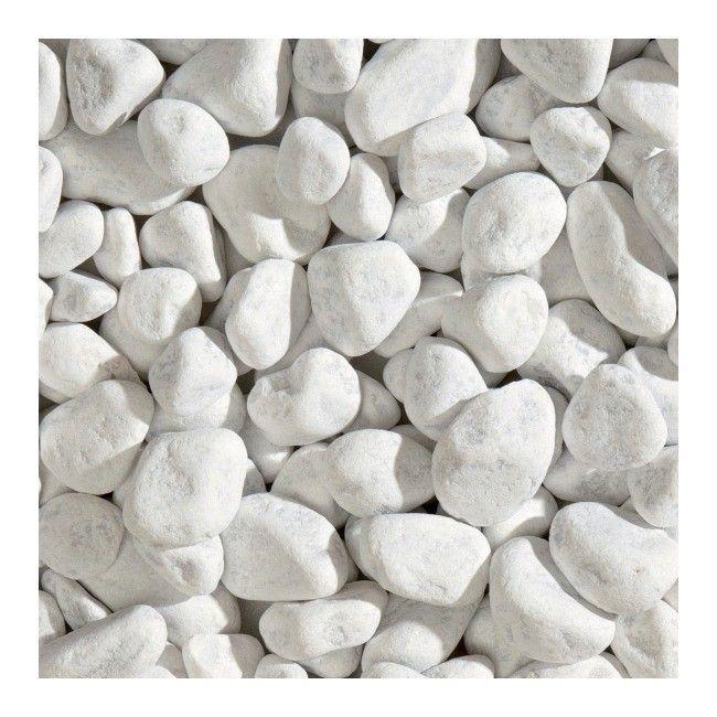Otoczak Blooma Carrara 40 60 Mm 20 Kg Biały