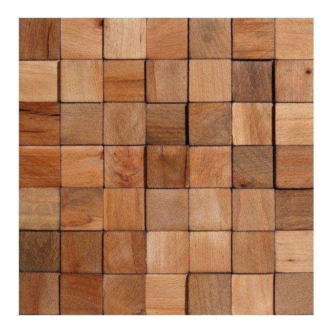 Panel Dekoracyjny Drewniany Stegu Cube 047 M2 Panele