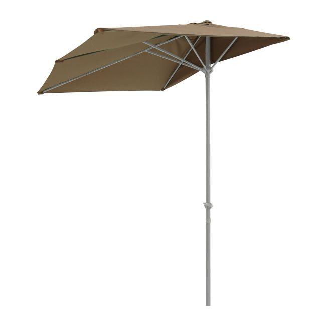 parasol metalowy blooma pali 2 3 x 1 3 m br zowy parasole ogrodowe parasole pawilony i. Black Bedroom Furniture Sets. Home Design Ideas