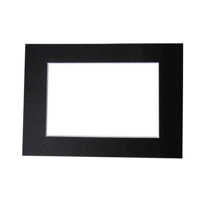 Passe - partout black 30 x 40 cm