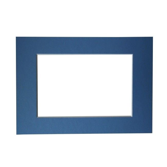 Passe - partout slate blue 18 x 24 cm