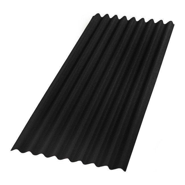 Płyta Bitumiczna Onduline Base 086 X 2 M Czarna