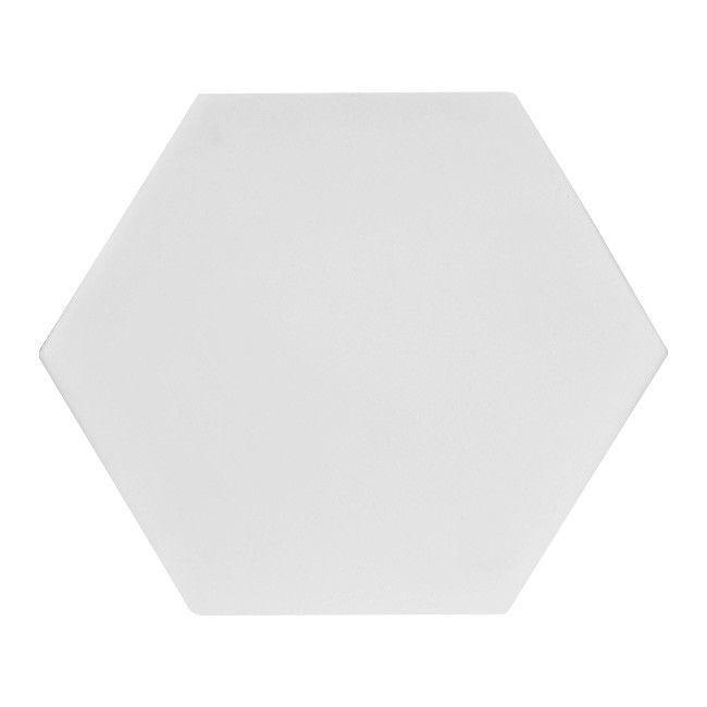 Plytka Dekoracyjna Merelia Hexagon Bialy 0 51 M2 Plytki Gipsowe Castorama