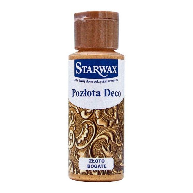 Pozlota Starwax Deco Zloto Bogate 59 Ml Efekty Dekoracyjne Castorama