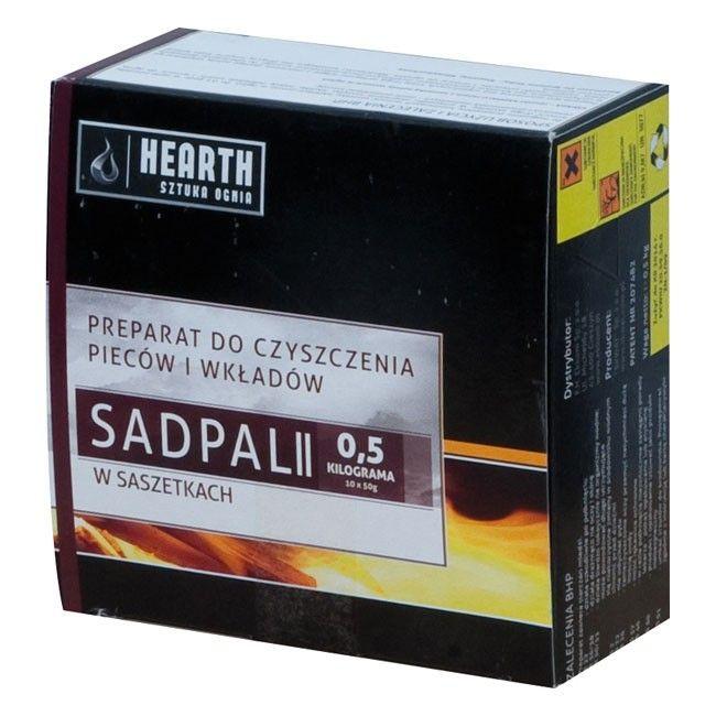 Inne rodzaje Preparat Hearth Sadpal II 0,5 kg 10 saszetek - Czyszczenie komina QB76
