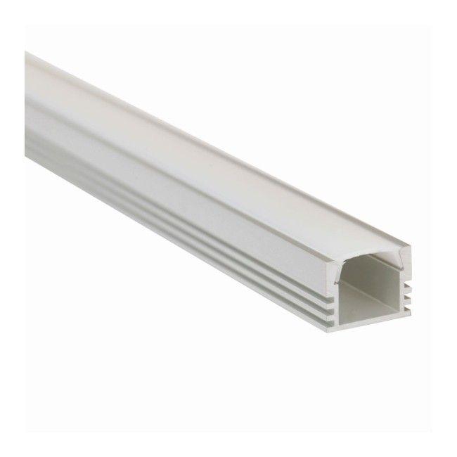profil pds4 aluminiowy z os onk mleczn inne akcesoria do o wietlenia o wietlenie. Black Bedroom Furniture Sets. Home Design Ideas
