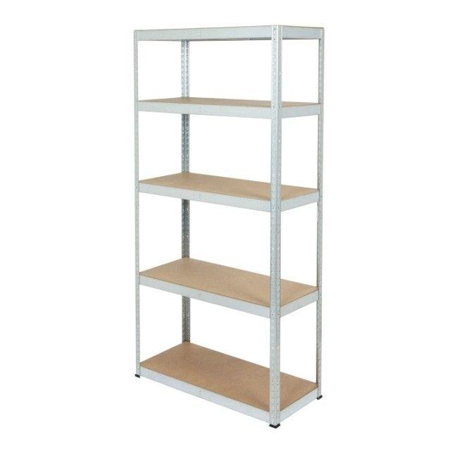 rega metalowy 180 x 90 x 40 cm 5 p ek 170 kg ocynk rega y metalowe wolnostoj ce rega y. Black Bedroom Furniture Sets. Home Design Ideas