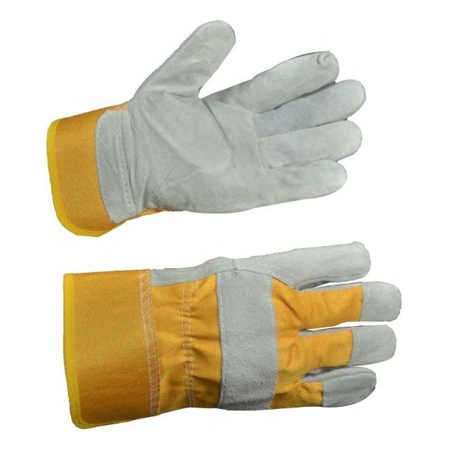 612e7b302db146 Rękawice robocze ze wzmocnionej skóry bydlęcej - Rękawice - Rękawice i  nakolanniki