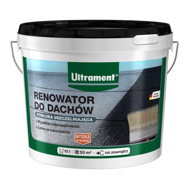 Renowator Do Dachow Ultrament 10 L Srodki Bitumiczne Castorama
