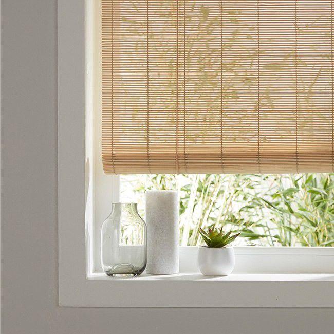 Roleta Bambus 120 X 180 Cm Natural