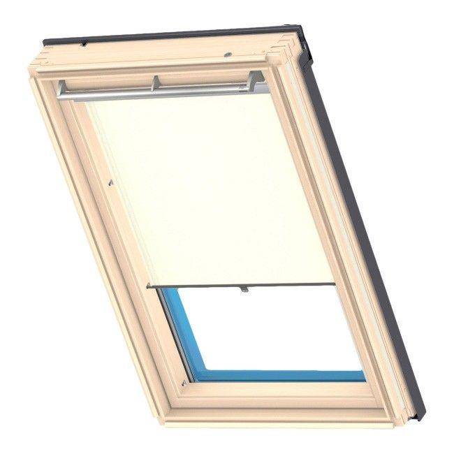 roleta velux haczyki 78 x 98 cm be owy rolety rolety i aluzje dekoracja okna urz dzanie. Black Bedroom Furniture Sets. Home Design Ideas