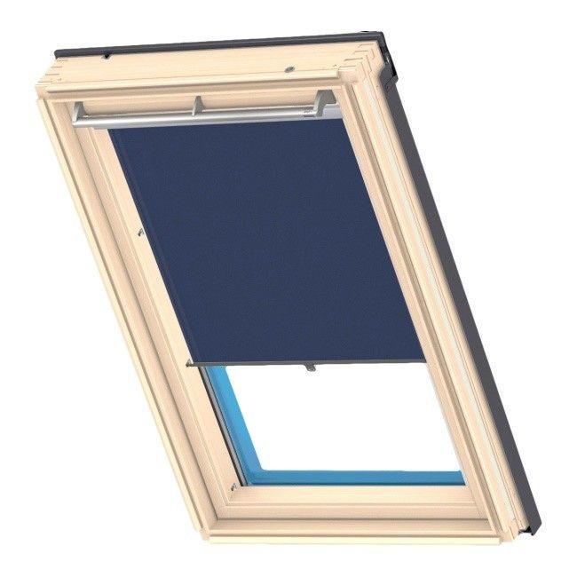 roleta velux haczyki 78 x 98 cm granatowy rolety rolety i aluzje dekoracja okna urz dzanie. Black Bedroom Furniture Sets. Home Design Ideas