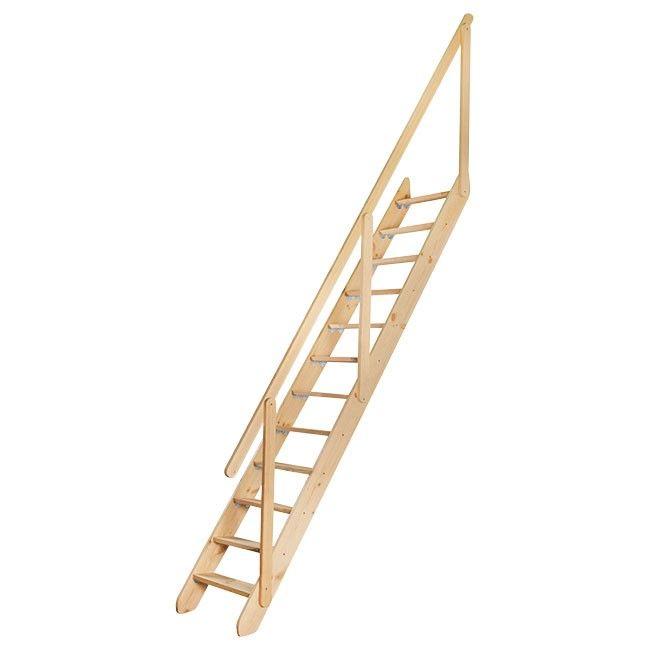 Gotowe Schody Z Drewna Castorama Budujesz Remontujesz Urzadzasz