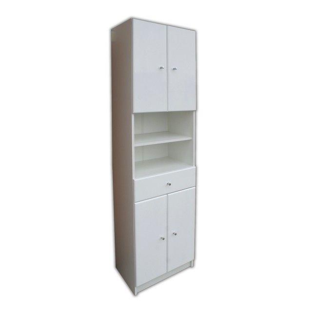 33 2 Door Antique White Bathroom Vanity Sink Cabinet: Słupek Rumba 50 X 184,2 X 33 Cm Biały