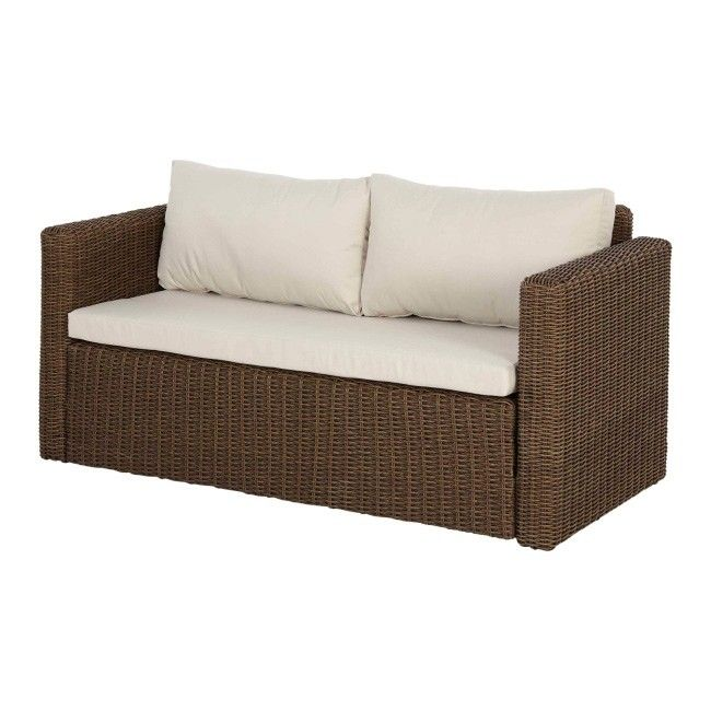 sofa blooma soron rattanowa 150 x 72 x 70 cm sofy. Black Bedroom Furniture Sets. Home Design Ideas