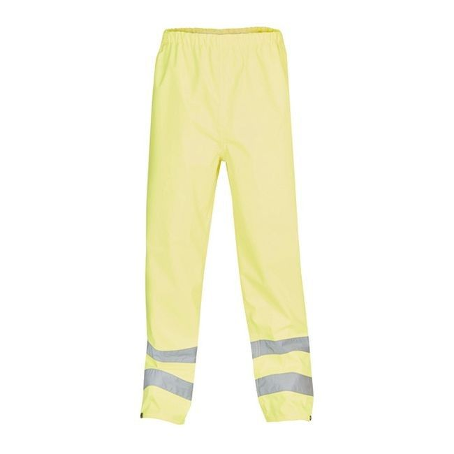 16163909b7e410 Spodnie męskie ostrzegawcze żółte M - Spodnie - Odzież i obuwie