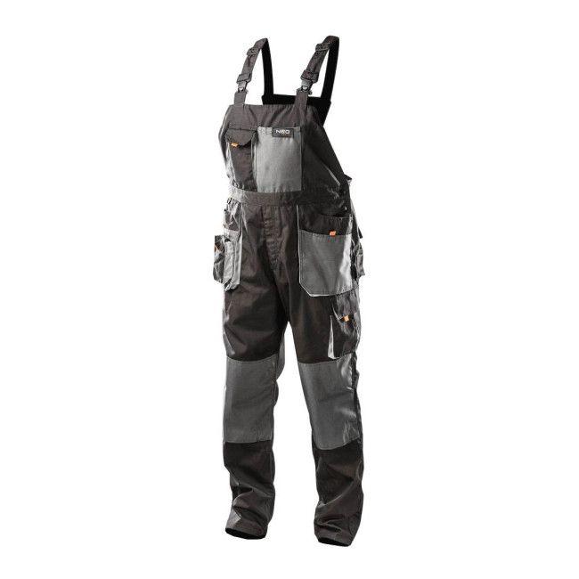 Spodnie Robocze Na Szelkach Neo L 52 Spodnie Castorama