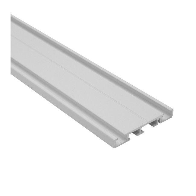 Szyna Sufitowa Aluminiowa 2 Torowa Biala 250 Cm Szyny Castorama