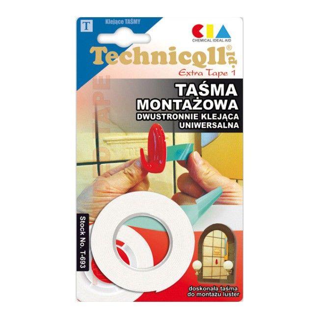 Tasma Montazowa Technicqll 1 5 M X 19 Mm Tasmy Castorama