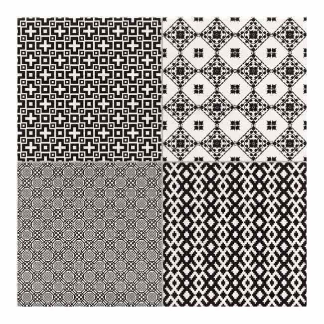Terakota Collage 45 X 45 Cm Negro 14 M2 Terakota Ceramika