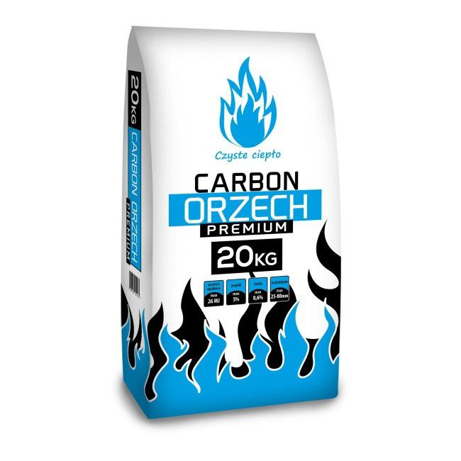 Wegiel Orzech Premium 26 Mj Kg 20 Kg Paliwa Do Kotlow Castorama