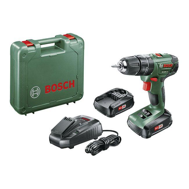Wiertarko Wkretarka Bosch Psb1800li 2 18 V 1 5 Ah Wkretarki Akumulatorowe Castorama