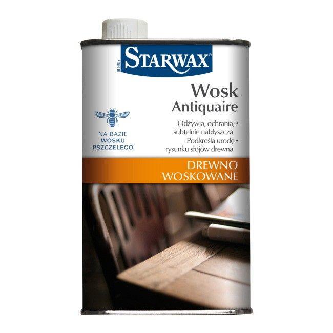 Wosk Starwax Antiquaire Drewno Woskowane 0 5 L Srodki Do Renowacji Castorama