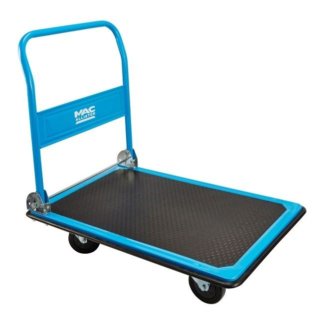 w zek platformowy macallister 300 kg w zki i platformy transportowe porz dek i magazynowanie. Black Bedroom Furniture Sets. Home Design Ideas