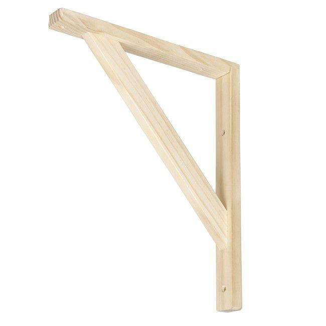 Wspornik Drewniany Form Timber 250 X 300 Mm Naturalny