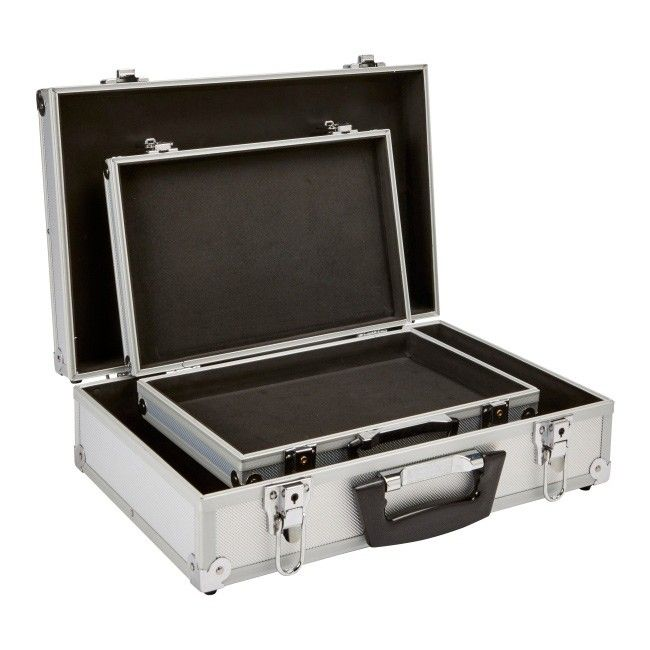 fa95b84a8fb0e Zestaw 2 aluminiowych walizek 13'' i 17'' - Skrzynie narzędziowe - Porządek  i magazynowanie